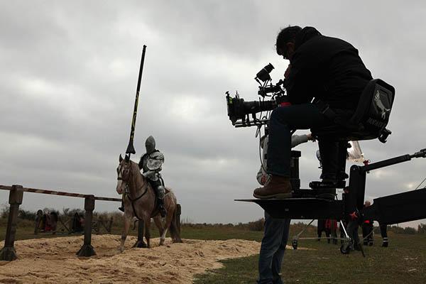 lovak kiképzése filmforgatáshoz