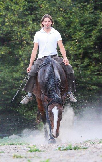 Tisza Zoltán - lókiképző, lovasoktató